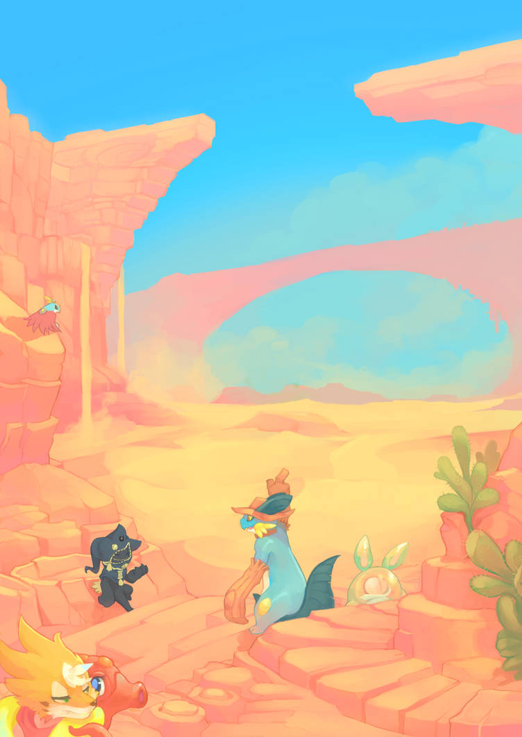 Geoda Desert by ChillySunDance