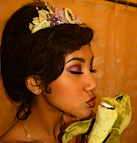 Tiana xoxo Naveen by LittleMissMint