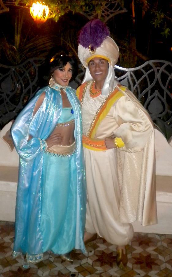 Prince Ali and Jasmine :) by LittleMissMint