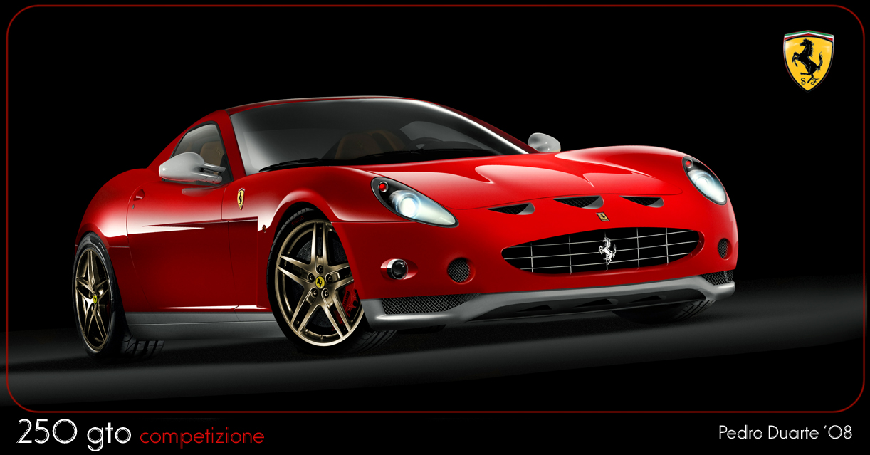 ferrari 250 gto concept. Black Bedroom Furniture Sets. Home Design Ideas