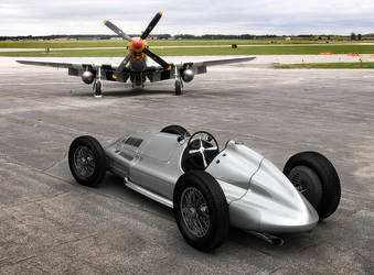 Mercedes Benz W165 Airfield by Laffonte