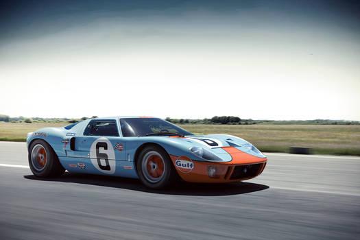 GT40 Top Gear Test Track