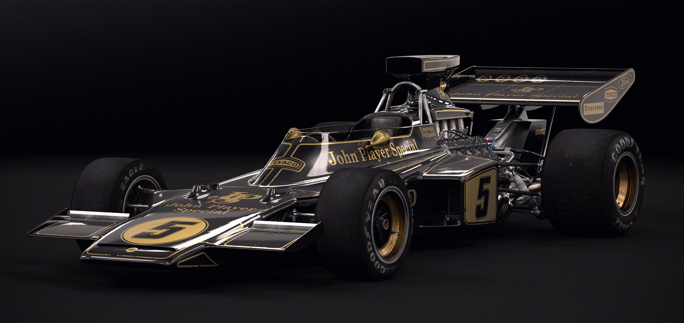 Lotus 72D Studio by Laffonte