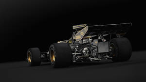 Lotus 72D Studio (Rear Angle) by Laffonte
