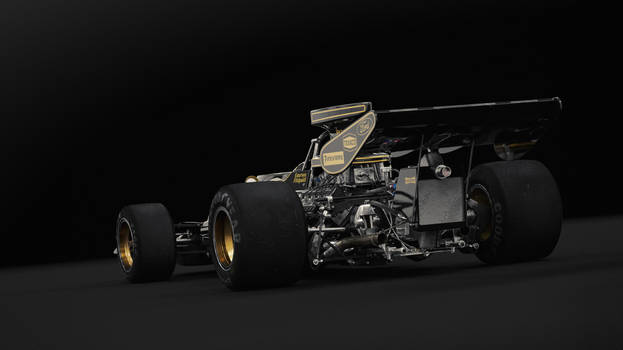 Lotus 72D Studio (Rear Angle)