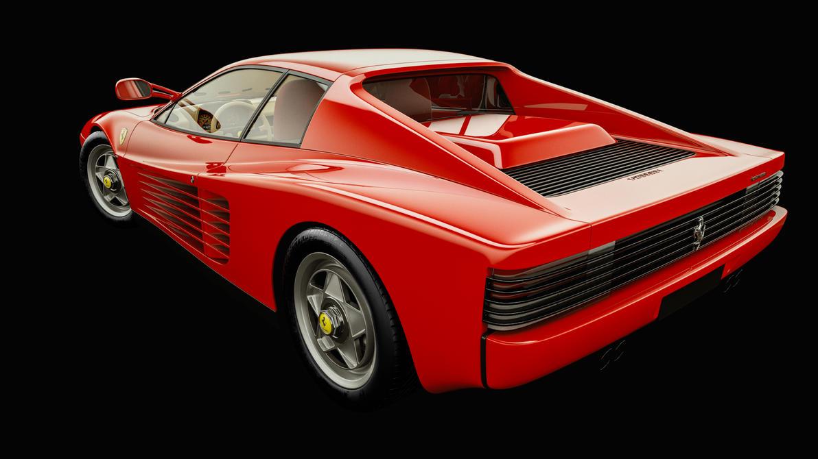 Ferrari Testarossa (1984) by Laffonte
