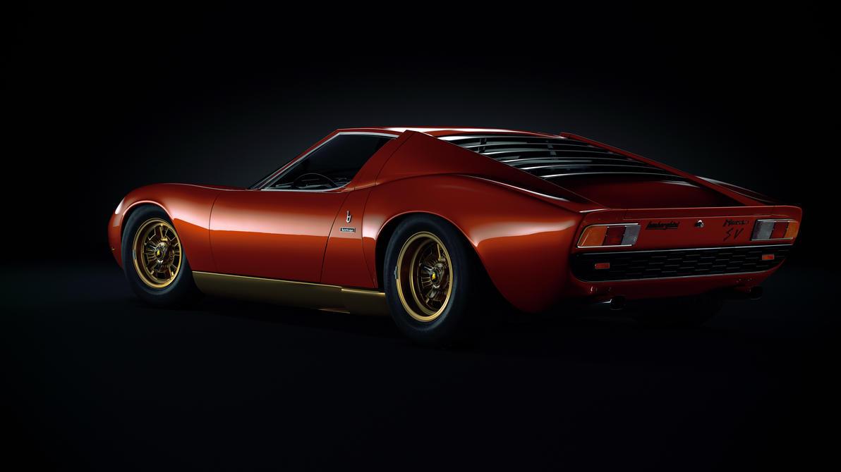 Lamborghini Miura SV by Laffonte