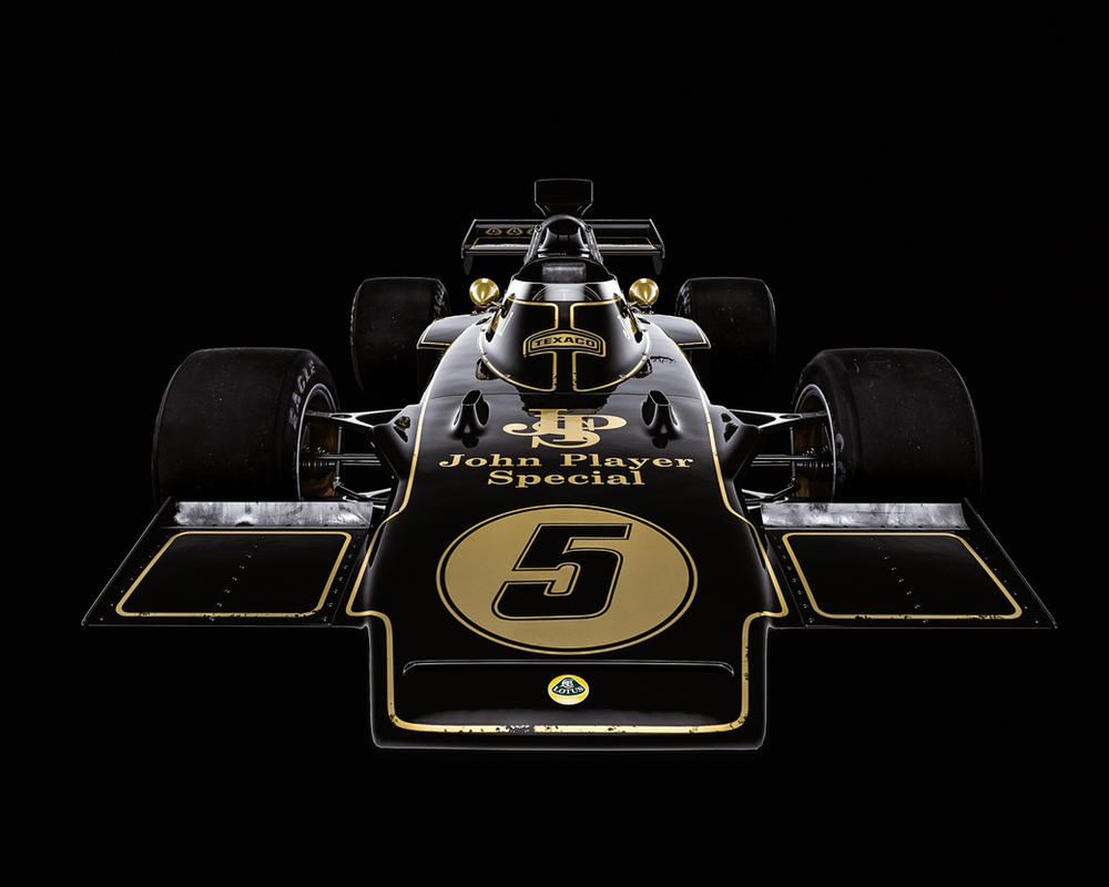 Lotus 72D (James Mann style) by Laffonte