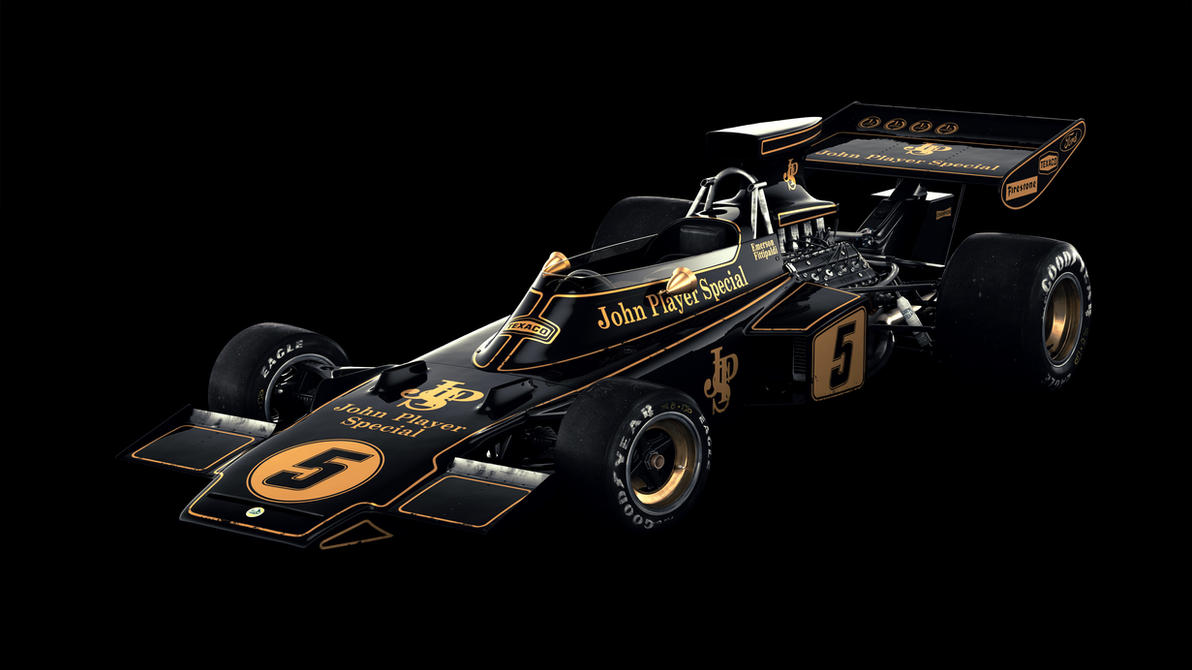 Lotus 72D (James Mann style) II by Laffonte