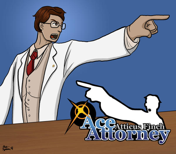 Atticus Finch: Ace Attorney by dark--typhoon