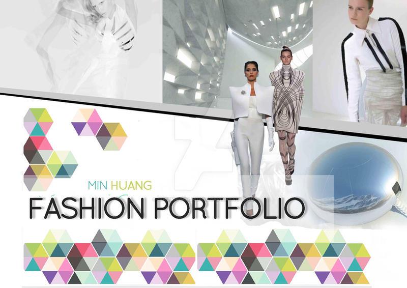 Queenie Fashion Design Portfolio Cover Page By Queenie Min Huang On Deviantart