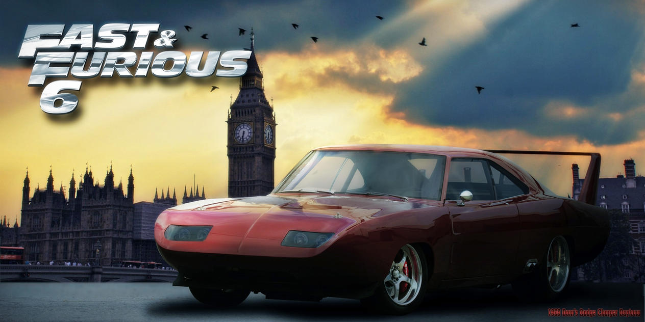 Fast and Furious 6 - 1969 Dodge Charger Daytona by 212thTrooper on