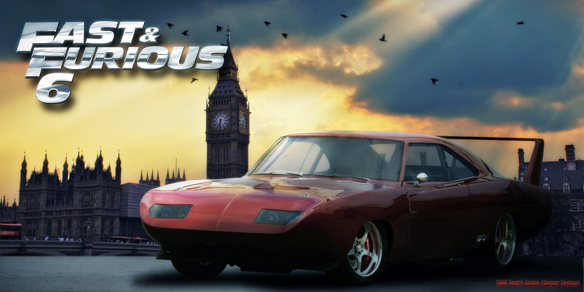 Fast And Furious 6 1969 Dodge Charger Daytona By 212thtrooper On