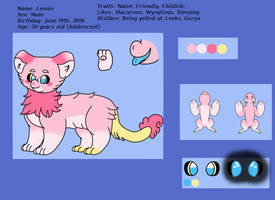 Wyngro! Leonis Reference Sheet by kirbywarriors