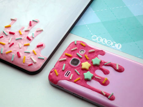 Melty phone case