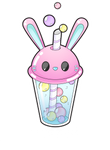 Bunny bubble tea