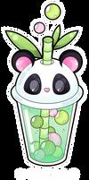 Panda bubble tea