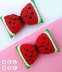 Watermelon bows