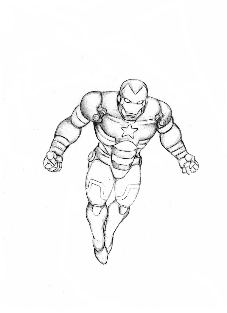 iron patriot drawing images galleries with a bite