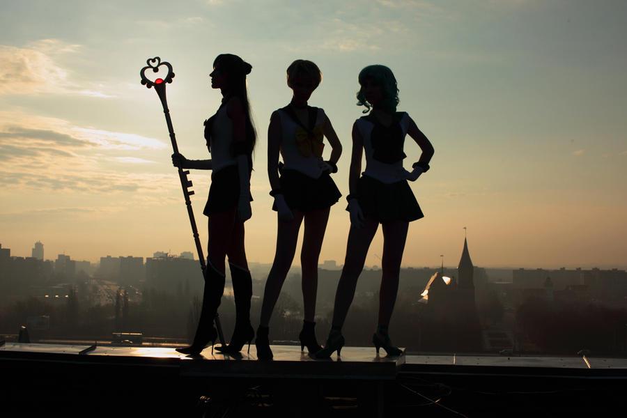 Outer Senshi by tajfu