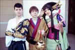 Yuuko, Watanuki + Doumeki