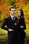 The Addams Family - Morticia and Gomez