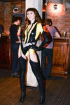 SIlk Spectre at the party