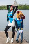 Tenchi Muyo! - Kiyone and Mihoshi
