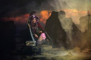 Pirate Girl - Beware of the curse by tajfu