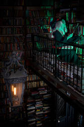 Little Witch Academia - Old library