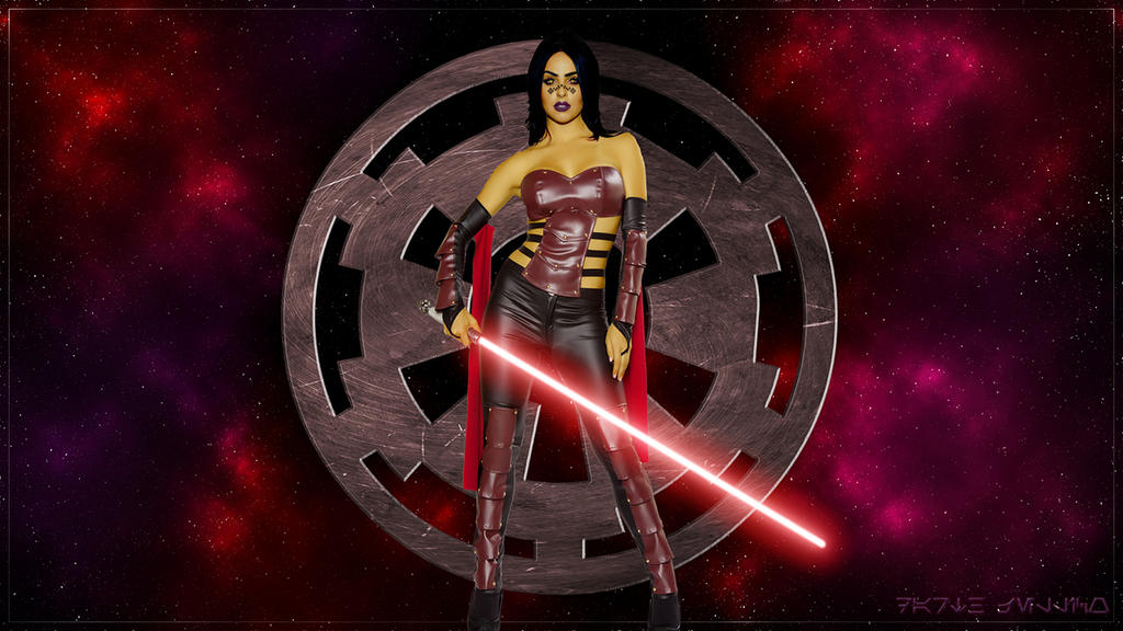 Sith Lord Barriss Offee by DarthJellico
