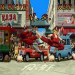 Street Fighter M.Bison Vs Ken