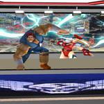 Street Fighter T.Hawk Attacks Bisonopolis