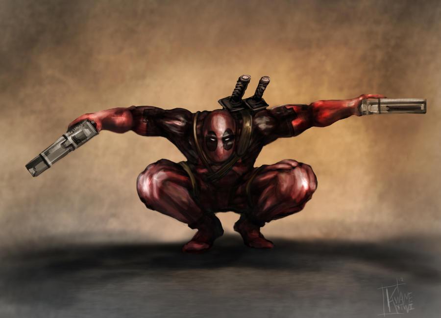 Deadpool by Eckko