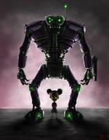 Daddy Built A Robot by Eckko