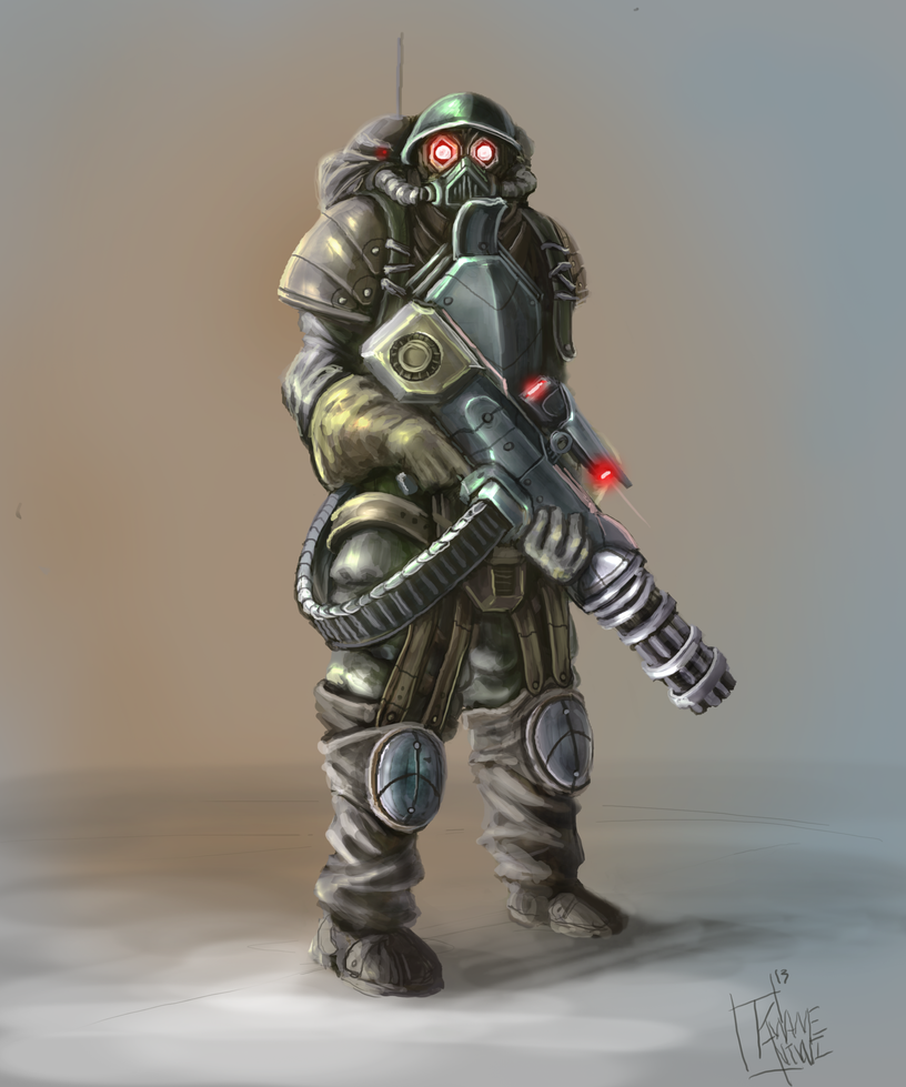 Dieselpunk Soldier Dieselpunk Soldier_ Co...