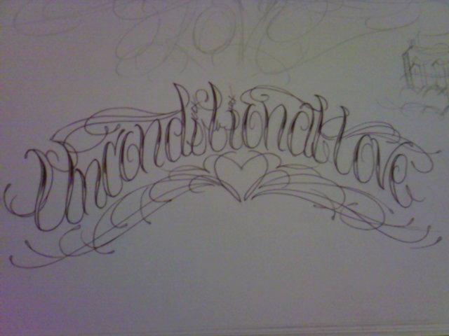 unconditional love tattooUnconditional Love Tattoo