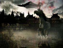 The Black Unicorn by inkolor
