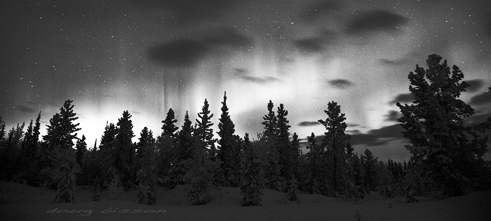 Northern Lights Yukon style by right-angle