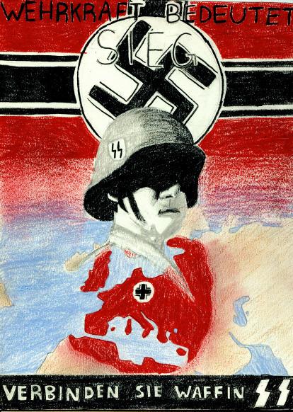 german ww2 propaganda poster by sarcastro on deviantart