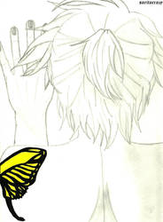 +Butterfly on Your Right Shoulder ~ Len version+ by saritacrazy