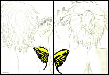 +Butterfly on Your Right Shoulder ~ both version+ by saritacrazy