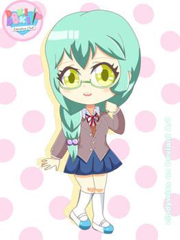 Hikari chibi (DDLC OC)