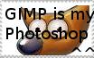 :Gimp Is My Photoshop STAMP: by VenomousViper3o