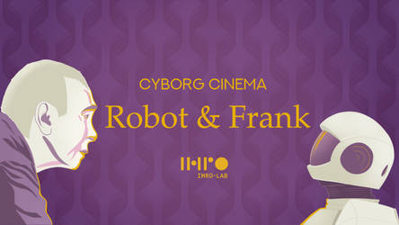 Movie poster (Robot and Frank)