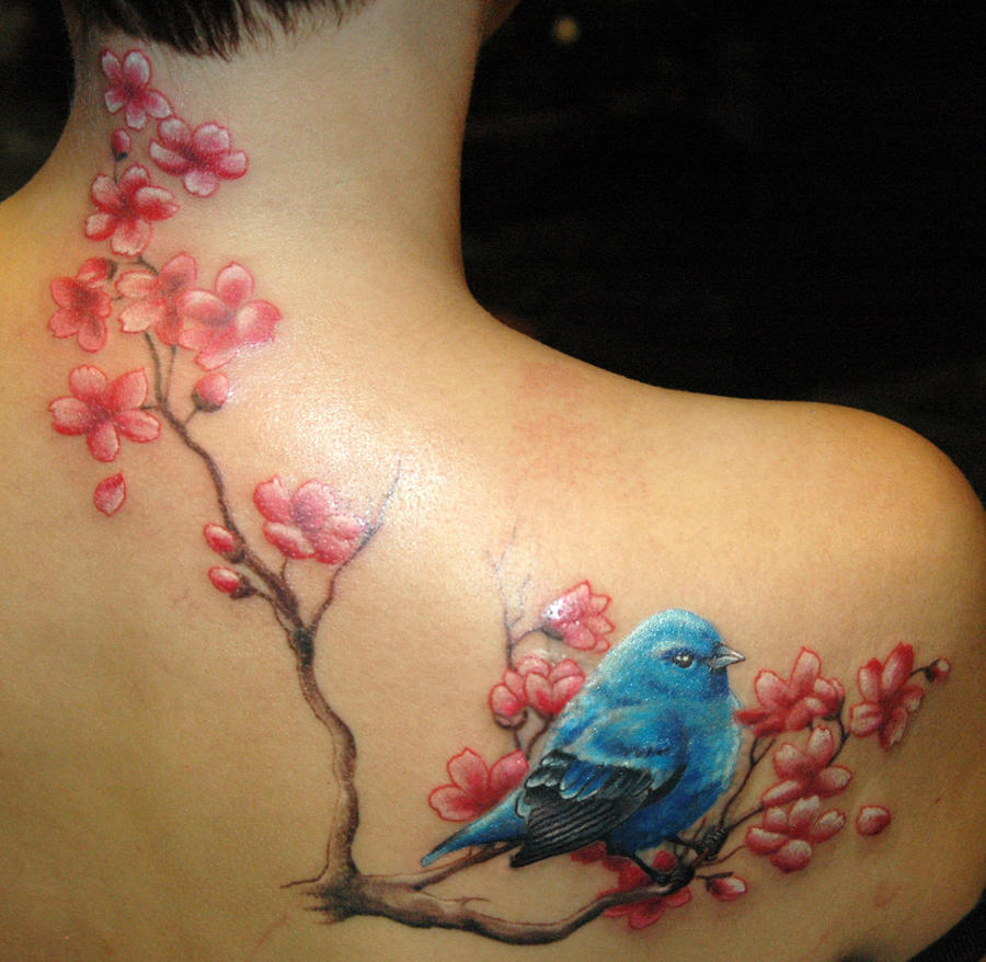 blue bird by KisBrigi