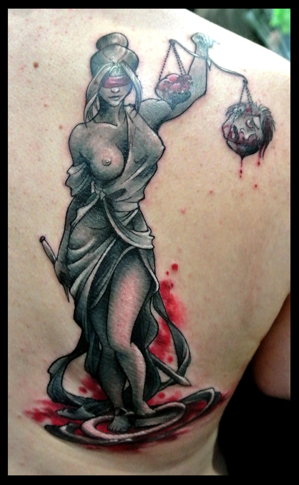 Justitia by kisbrigi on deviantart for Tattoos of lady justice