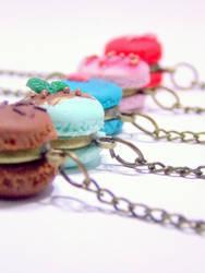 Yummy macaron bracelets