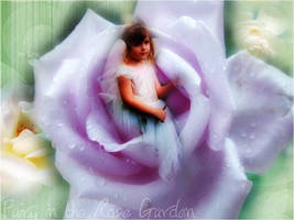 Fairy in the Rose Garden by tenczerszofi