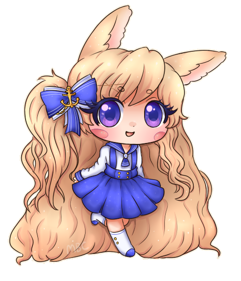 Himeka Bunny by MichibanCupcakes